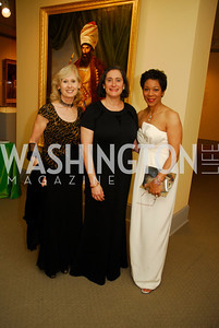 Willee Lewis,Susan Sterling,Andrea Roane,April 27,2012,National Museum of Women in the Arts 25th Anniversary Gala.Kyle Samperton