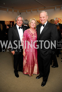 Robert Higdon,Britain Bardess,David Decklebaum,April 27,2012,National Museum of Women in the Arts 25th Anniversary Gala.Kyle Samperton
