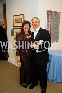 Carol Schwartz,Marc Duber,,April 27,2012,National Museum of Women in the Arts 25th Anniversary Gala.Kyle Samperton