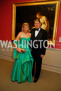 Sally Mott Freeman,John Freeman,April 27,2012,National Museum of Women in the Arts 25th Anniversary Gala.Kyle Samperton