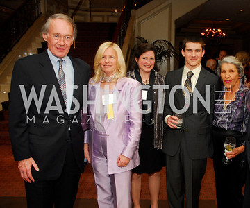 Rep .Ed Markey,Susan Blumenthal.Phyllis D'Houp,William Bowman,Carolyn Abshire,March 29,2012,45th Annual CSPC Awards Dinner,Kyle Samperton
