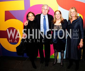 Melissa Moss,Howard Fineman,Amy Nathanson,Katty Kay,November 30,2012,50th Anniversary of Arts in the Embassies,Kyle Samperton
