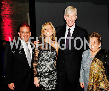 Raoul Fernandez, Jean Marie Fernandez,David Gregory,Donna Shalala,November 30,2012,50th Anniversary of Arts in the Embassies,Kyle Samperton