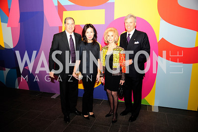 Jim Abdo,Mai Abdo,Wilma Bernstein,Stuart Bernstein,November 30,2012,50th Anniversary of Arts in the Embassies,Kyle Samperton