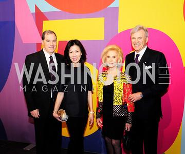 Jim Abdo,Mai Abdo,Wilma Bernstein,Stuart Bernstein,November 30,2012,50th Anniversary of Arts in the Embassies,Kyle Samperton