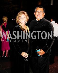 Susan Budge,Jesus Moroles,November 30,2012,50th Anniversary of Arts in the Embassies,Kyle Samperton