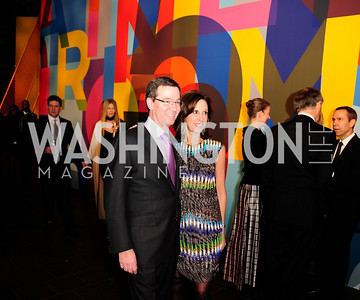 Robert Allbritton,Beth Dozoretz,November 30,2012,50th Anniversary of Arts in the Embassies,Kyle Samperton