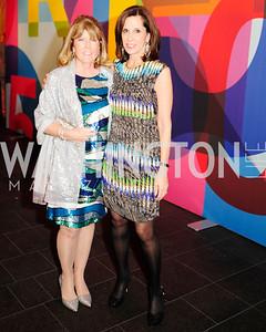 Ginny Grenham,Beth Dozoretz,November 30,2012,50th Anniversary of Arts in the Embassies,Kyle Samperton