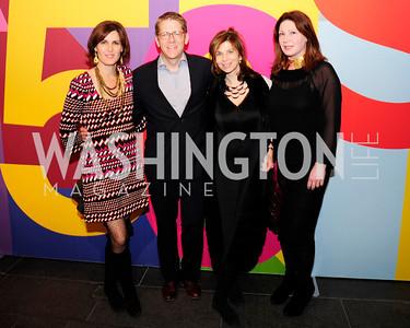 Claire Shipman,Jay Carney,Artemis Zenetou,Ioana Miller,November 30,2012,50th Anniversary of Arts in the Embassies,Kyle Samperton