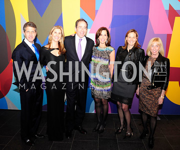 John Shulman,Alison Shulman,Tom Nides,Beth Dozoretz, Virginia Mosely,Jill Ised,November 30,2012,50th Anniversary of Arts in the Embassies,Kyle Samperton