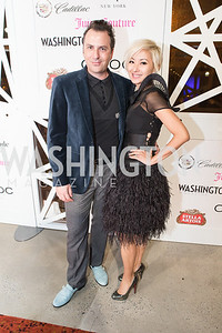 Michael Clements, Anchyi Wei. 7th Annual Young and the Guest List. Photo by Alfredo Flores. Arena Stage. December 17, 2012