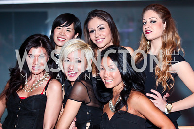 Alexandra Simms, Winyan Soohoo, Anchyi Wei, Maria Sarai, Becky Lee, Mollie Young. Photo by Tony Powell. YGL. Arena Stage. December 17, 2012