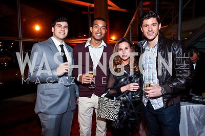 Mihran Erkiletian, Theon Holland, Lynda Erkiletian, Radovan Jankovic. Photo by Tony Powell. YGL. Arena Stage. December 17, 2012
