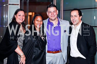 Camelia Mazard, Montina Anderson, Demetrio Zavallo, Alan Popovsay. Photo by Tony Powell. YGL. Arena Stage. December 17, 2012