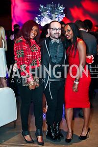 Elaine Mensah, James Cornwell, Sylvie Luanghy. Photo by Tony Powell. YGL. Arena Stage. December 17, 2012