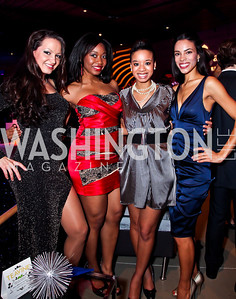 Fran Holuba, Ciara Famble, Ashley Williams, Kyla Griffith. Photo by Tony Powell. YGL. Arena Stage. December 17, 2012