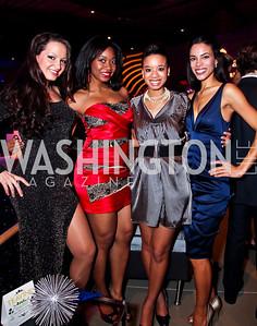 Fran Holuba, Ciara Famble, Ashley Williams, Kyla Griffith. Photo by Tony Powell. YGL. Arena Stage. December 17, 2012
