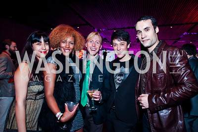 Maureen Hidalgo, Krystal Ugo, Jameson Freeman, Dana Tai Soon Burgess, Flavius Mihaies. Photo by Tony Powell. YGL. Arena Stage. December 17, 2012