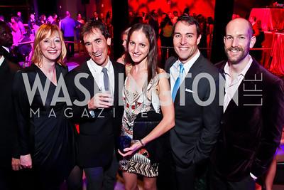 Abby Fenton, David Muse, Hannah Arem, Scott Thuman, Scott Hasty. Photo by Tony Powell. YGL. Arena Stage. December 17, 2012