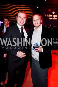 Matt Bronczek, Mark Ein. Photo by Tony Powell. YGL. Arena Stage. December 17, 2012