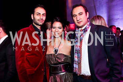Omar Popal, Christina Sevilla, Karim Chrobog. Photo by Tony Powell. YGL. Arena Stage. December 17, 2012