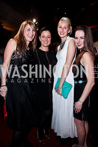 DJ Neekola, Anna Chaley Croll, Holly Thomas, Ciera Gallub. Photo by Tony Powell. YGL. Arena Stage. December 17, 2012