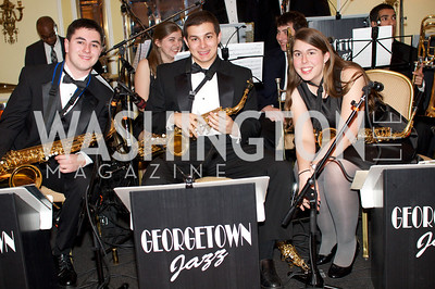 Matt Berstein, Alex Salona Vera Hollander,  at the 87th Annual Georgetown University Diplomatic Dance