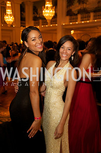 Yolanda Rother, Alex Bledsoe at the 87th Annual Georgetown University Diplomatic Dance