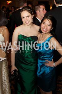 Sari, Frankel, Elaine Li at the 87th Annual Georgetown University Diplomatic Dance