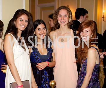 Nastasia Paul-Gerra, Nafees Ahmed, Cody Kane, Sarah Baliscreri, at the 87th Annual Georgetown University Diplomatic Dance