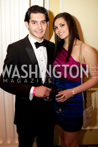 Alex Graff and Jeanette Bayoumi at the 87th Annual Georgetown University Diplomatic Dance