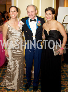 Nancy Fisher, Dr. Terry Potter, Michelle Saks at the 87th Annual Georgetown University Diplomatic Dance