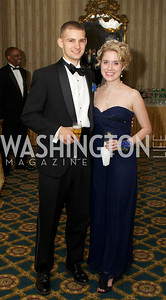 Ryan Gildersleeve, Meredith Mangold at the 87th Annual Georgetown University Diplomatic Dance
