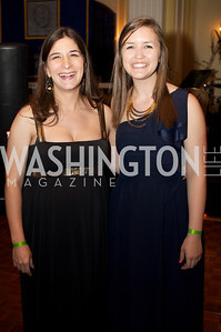 Elizabeth Grimm Arsenault and Jordan Daniels at the 87th Annual Georgetown University Diplomatic Dance