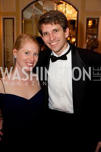 Anna Shifflet and Jason St. John at the 87th Annual Georgetown University Diplomatic Dance