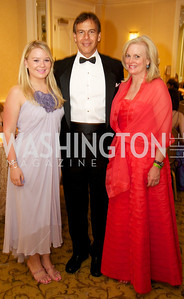 Elizabeth, Steve and Barbara Buffone  at the 87th Annual Georgetown University Diplomatic Dance