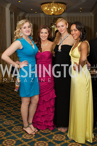 Annalee Abell, Elizabeth Riggens, Emmie Derback, Danielle White at the 87th Annual Georgetown University Diplomatic Dance