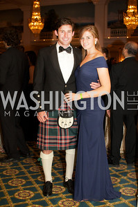 David Nicol and Paige Lovejoy at the 87th Annual Georgetown University Diplomatic Dance