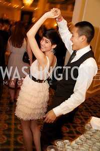 Alex Jung and Kiet Nguyen at the 87th Annual Georgetown University Diplomatic Dance