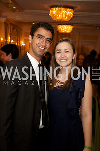 Adam Giansiragusa and Jordan Daniels at the 87th Annual Georgetown University Diplomatic Dance