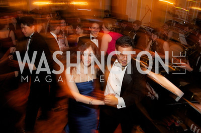 Lynn White Hansky Santos dancing at the 87th Annual Georgetown University Diplomatic Dance