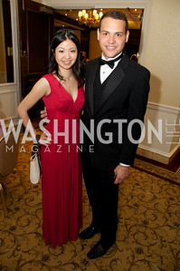Nanase Matsushita and George Spyropoulos  at the 87th Annual Georgetown University Diplomatic Dance