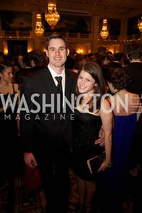 Gregory Charte and Mollie Grossman at the 87th Annual Georgetown University Diplomatic Dance