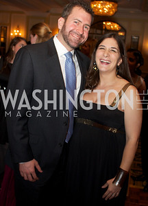 Jacques Arsenault  and Elizabeth Lynn Arsenault   at the 87th Annual Georgetown University Diplomatic Dance