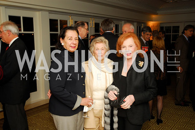 Ann Jordan,Cynthia Helms,Buffy Cafritz, A Book Party for Thomas Caplan,January 17,2012,Kyle Samperton