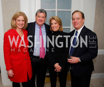 Kathleen Townsend,John Coale,Greta Van Susteren,Tom Siebert,A Book Party for Thomas Caplan,January 17,2012,Kyle Samperton