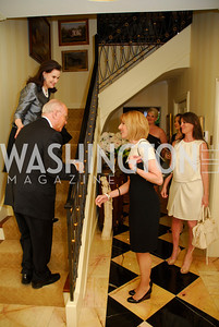 Alexandra de Borchgrave, Arnaud de Brochgrave, Katie Jaefers, Kerri Larkin, A Dinner for Carolina Herrera, May 2, 2012, Kyle Samperton
