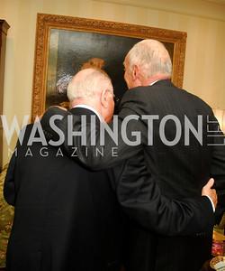 Arnaud de Borchgrave, Leonard Lauder, A Dinner for Carolina Herrera, May 2, 2012, Kyle Samperton