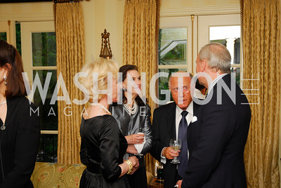 Nancy Corzine, Alexandra de Borchgrave, Arnaud de Borchgrave, David Decklebaum, A Dinner for Carolina Herrera, May 2, 2012, Kyle Samperton
