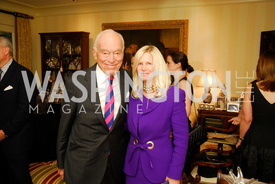 Leonard Lauder, Susan Blumenthal, A Dinner for Carolina Herrera, May 2, 2012, Kyle Samperton